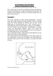 Die Eisenbahnen in den ehemaligen deutschen Schutzgebieten in ...