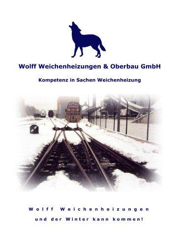 Kat Deu 2010 - Wolff Weichenheizungen & Oberbau GmbH