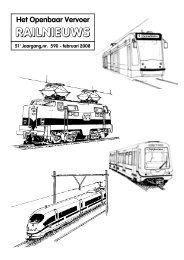 51e Jaargang,nr. 590 - februari 2008 - Het Openbaar Vervoer ...