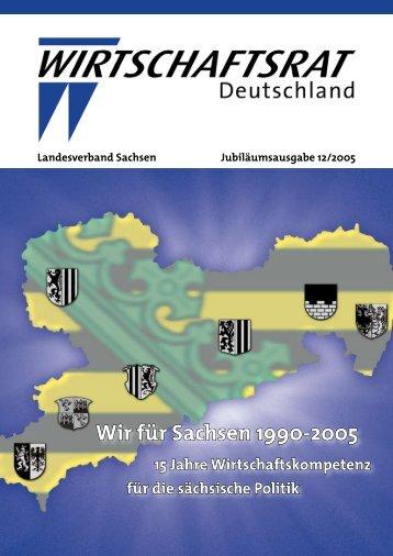 Wir für Sachsen 1990-2005 - Home