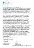 Qualitätsberichtes 2010 - Kliniken.de - Page 3