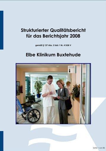 Strukturierter Qualitätsbericht für das Berichtsjahr 2008 ... - Kliniken.de