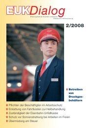 I Betreiben von Druckgas - Eisenbahn-Unfallkasse