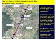 Aus- und Neubau der Rheintalbahn, 3. und 4. Gleis - Stadt Lahr