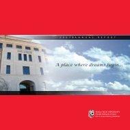 Paul L. Foster Annual Report 2007 - Texas Tech University Health ...