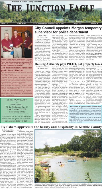 Fly fishers appreciate the beauty and hospitality in ... - Junction Eagle