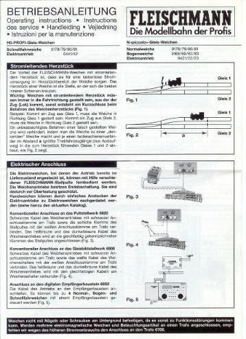 FLEISCHMANN - HobbyParts