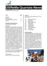 OSReMa-News 1 / 2011/12