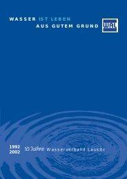 10 Jahre WAL - Wasserverband Lausitz