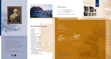 Das Gleimhaus ist - Halberstadt