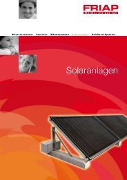 FRIAP-Solar-Individualanlagen - Friap AG