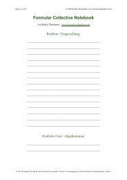 Formular Collective Notebook - Kreativesdenken.com