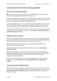 Leseprobe Ideen für Kunden und Konzepte finden