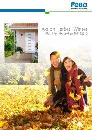 Herbst-/Winter-Aktion bei FeBa mit