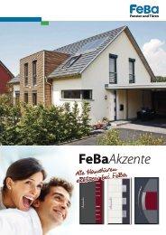 Unsere neue Haustüraktion FeBaAkzente - FeBa Fensterbau GmbH