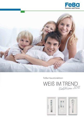 """Download Broschüre Aktion """"Weiß im Trend""""!"""