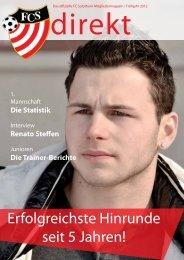 Erfolgreichste Hinrunde seit 5 Jahren! - FC Solothurn