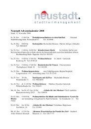 081118_Veranstaltungen Neustadt Adventskalender - Trenz AG