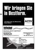 TC Meilen Weisser Ball Nr. 4 Oktober 2006 - tennisclub meilen - Page 3