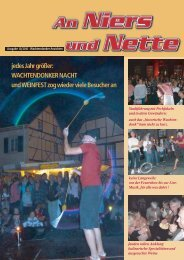 jedes Jahr größer: WACHTENDONKER NACHT und WEINFEST zog ...