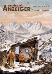 Ausgabe vom Dez 2012 Jan 2013 - Wendelstein Anzeiger