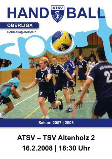 hand ball oberliga - ATSV Stockelsdorf   Handball-Herren - Arttmedia