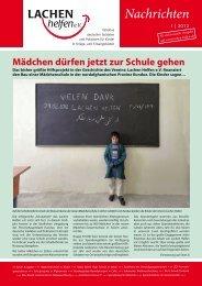 LaHe Newsletter 2012-I.indd - Lachen Helfen e.V.