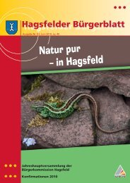 Natur pur – in Hagsfeld - KA-News