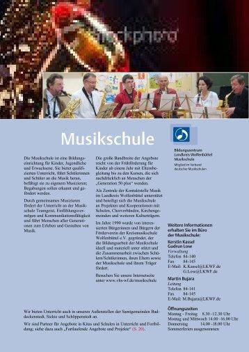 Musikschule - Bildungszentrum Wolfenbüttel