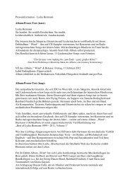 Presseinformation - Lydia Hermann Album-Presse-Text (kurz): Lydia ...