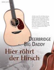 DEERBRIDGE BIG DADDY - Deerbridge Guitars