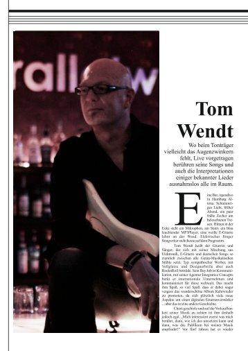 herunterladen - Tom Wendt