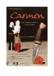 dossier de presse carmen - Théâtre du Miroir