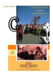 dossier chants sacrés gitans - Opus 31