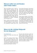 Wie sagt man es den Kindern? - Krebsliga Schweiz - Seite 2