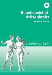 Bauchspeicheldrüsenkrebs - Krebsliga Schweiz
