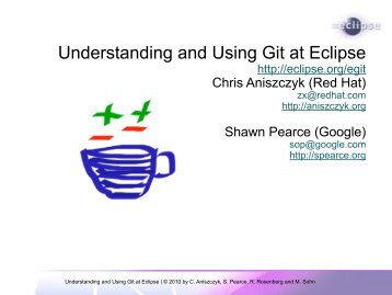 Understanding and Using Git at Eclipse