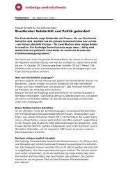 Pdf herunterladen - Krebsliga Zentralschweiz