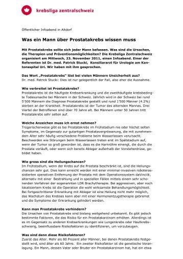 Hautkrebstag 11 - Krebsliga Zentralschweiz