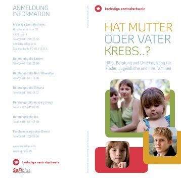 neues Angebot - Krebsliga Zentralschweiz