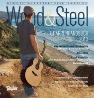 Gitarrenhandbuch 2013 - Taylor Guitars