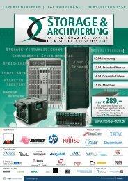 nur € 289,– www.storage-2011.de - eGovernment Computing