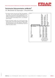Technische Dokumentation airModul® 10. Merkblatt 02 ... - Friap AG
