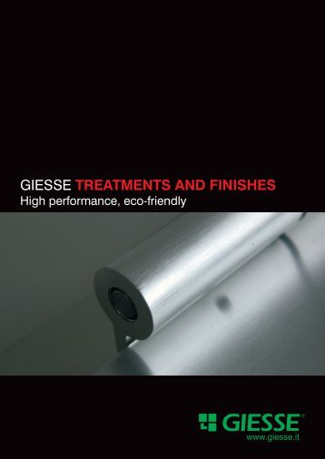 GIESSE TREATMENTS AND FINISHES - Giesse Group