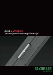 Download the Linea 3D Hinge Catalog PDF