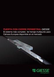 PUERTA CON CIERRE PERIMETRAL GIESSE