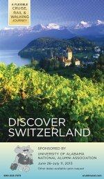 DISCOVER SWITZERLAND - AHI International