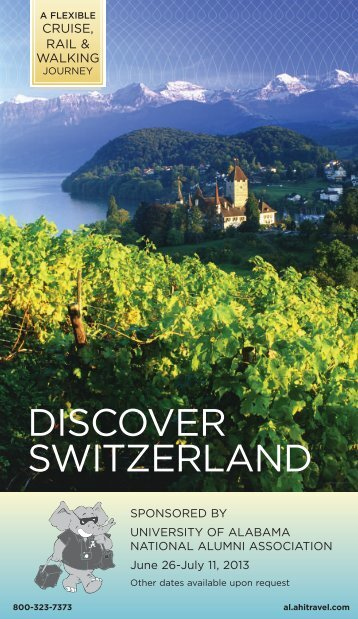 DISCOVER SWITZERLAND - AHI International