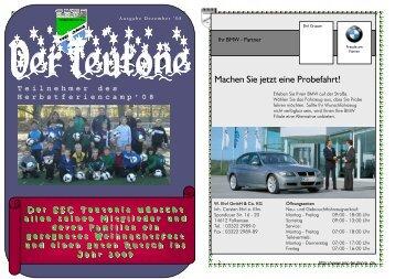 Ausgabe Dezember 2008 - SSC Teutonia 1899 eV