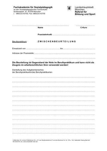 Die Zwischenbeurteilung des Berufspraktikums - Sozpaedfs.musin ...